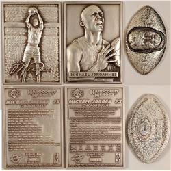 Sport Figures Silver Ingots   (102846)