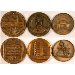 Three Large Business Medals   (102853)