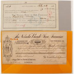 Nevada Bank of San Francisco Exchange & Promissory Note   (68001)