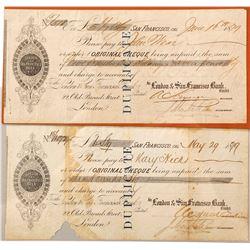 Two London & San Francisco Bank Exchanges   (67040)