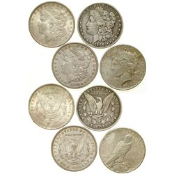 Silver Dollars/ 4 Items.   (105054)