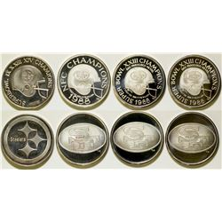 Football Silver Rounds   (106520)