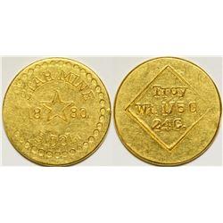 Star Mine Gold Coin   (108012)