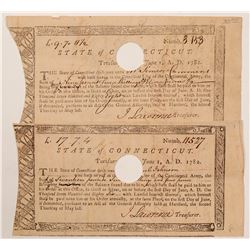 Revolutionary War Currency / 2 Items   (105419)