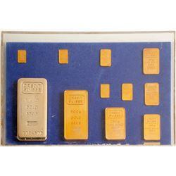Credit Suisse Facsimile Gold Bars - 11 pieces   (88649)