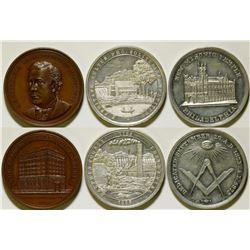 Commemorative Medals   (106521)