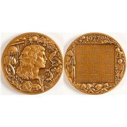 Bronze Medal (In Case)   (79151)