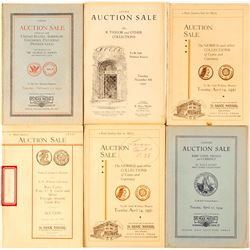 Max Mehl Auction Catalogs   (85551)