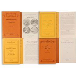 Wayte Raymond Numismatic Pamphlets   (85563)
