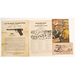 Colt and Winchester Booklets (4)   (88337)