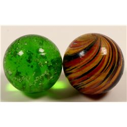 Marbles / Onion Skin & Green Mica .   (108078)
