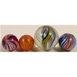 Marbles/ Divided Core & Onion Skins/ 2 Items.    (108058)