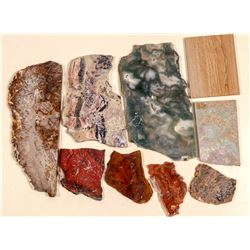 Large Attractive Mineral Slabs   (105121)