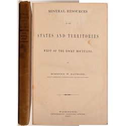 Nineral Resources of the States West of the Rockies by Raymond   (104596)