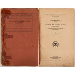 Mohave Desert Region, Paper 578 by USGS   (104597)