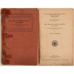 Mohave Desert Region, Paper 578 by USGS   (104597)