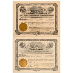 Two Nome Mining Stocks: Flambeau-Hastings and Port Clarence   (104027)