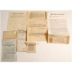 Alaska Gold Rush Papers (6)   (89145)