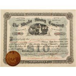 Alaska Mining Co. Stock   (76504)