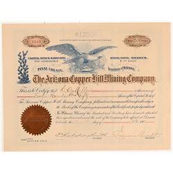 Arizona Copper Hill MC Stcok   (106626)