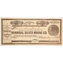 Hannibal Silver Mining Company Stock   (88024)