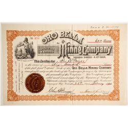 Oro Bella Mining Company Stock   (88140)