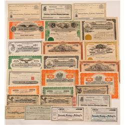 Amador County Mining Stock Certificate Collection   (107132)