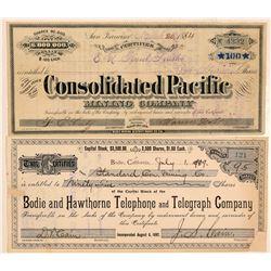 Bodie, CA Stocks (2)   (105586)