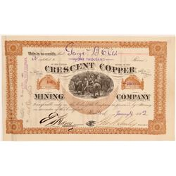 Crescent Copper MC Stock   (106615)