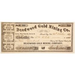 Deadwood Gold Mining Company Stock   (88078)