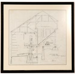 Original Empire Mine Stamp Mill Drawings, 1914   (106454)