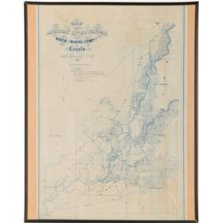 American River and Natoma Water and Mining Map   (91508)