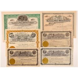 Randsburg, California Mining Stock Certificates   (107267)