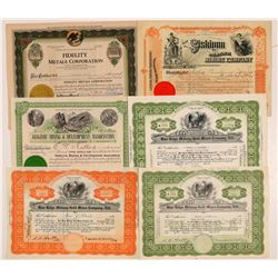 Siskiyou County Mining Stock Certificates   (107250)
