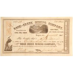 Rock=Creek Mining Company, Virginia, Placer County   (79703)