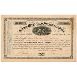 South Hite Gold Mining Company Stock Certificate   (107313)