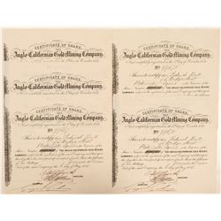Anglo Californian Gold Mining Stocks (5)   (105589)