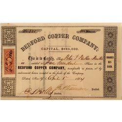 Bedford Copper Company Stock   (104002)