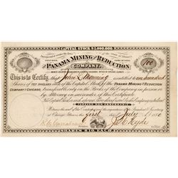 Panama Mining & Reduction Company Stock Certificate   (104447)