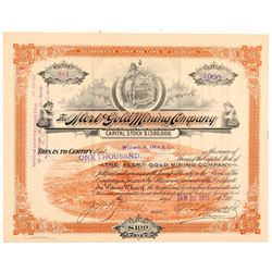Alert Gold Mining Company Stock Certificate   (104182)