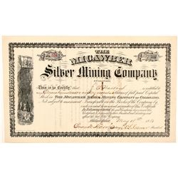 Micawber Silver Mining Company Stock Certificate   (104448)
