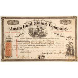 Austin Gold Mining Company Stock   (79744)
