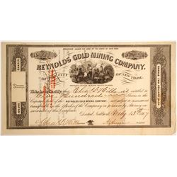 Reynolds Gold Mining Company of the city of New York Stock   (79746)