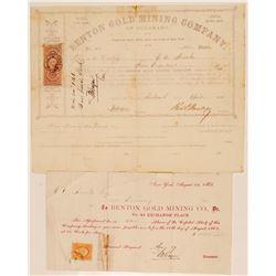 Benton Gold Mining Company of Colorado   (104691)