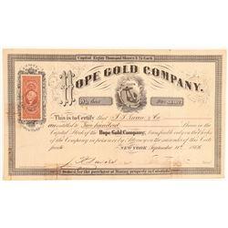 Hope Gold Company   (104723)