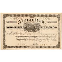 Nonantum Gold & Silver Mining Co. Stock Certificate   (104468)