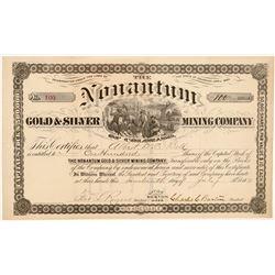 Nonantum Gold & Silver Mining Co. Stock Certificate   (104468)