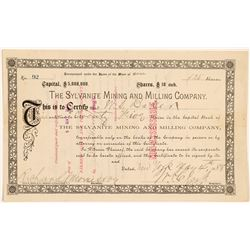 Sylvanite Mining & Milling Co. Stock Certificate   (104333)