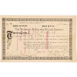 Sylvanite Mining & Milling Co. Stock Certificate   (104333)
