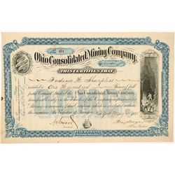 Ohio Consolidated Mining Company Stock Certificate   (104463)
